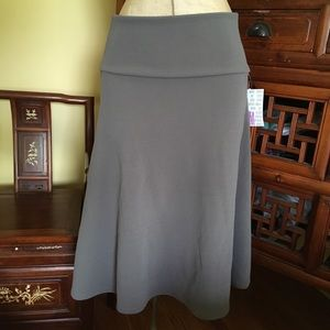 Lularoe slate gray Azure circle skirt!